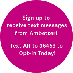 Sign up to receive text messages from Ambetter! Text AR to 36453 to Opt-in today!