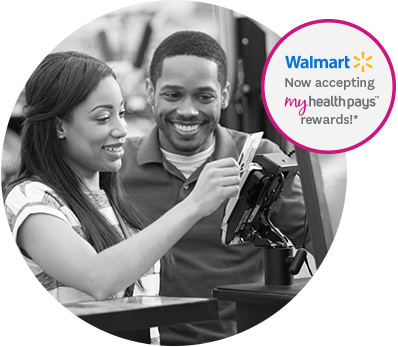 Walmart is now accepting My Health Pays rewards!